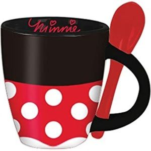 Disney Minnie Signature Dress Espresso Cup w/Spoon